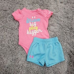 Under Armour Onsie & Shorts Set